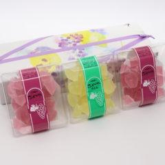 ぶどう氷3個パック(ぶどう・れもん)<br>1,400円(税込)