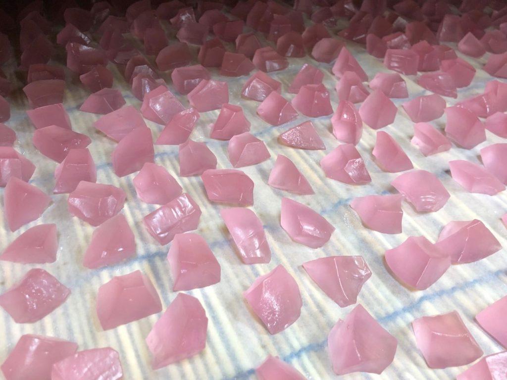 ぶどう氷,琥珀糖,お菓子,福島銘菓